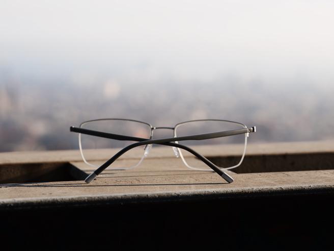 Eine Brille auf Reisen